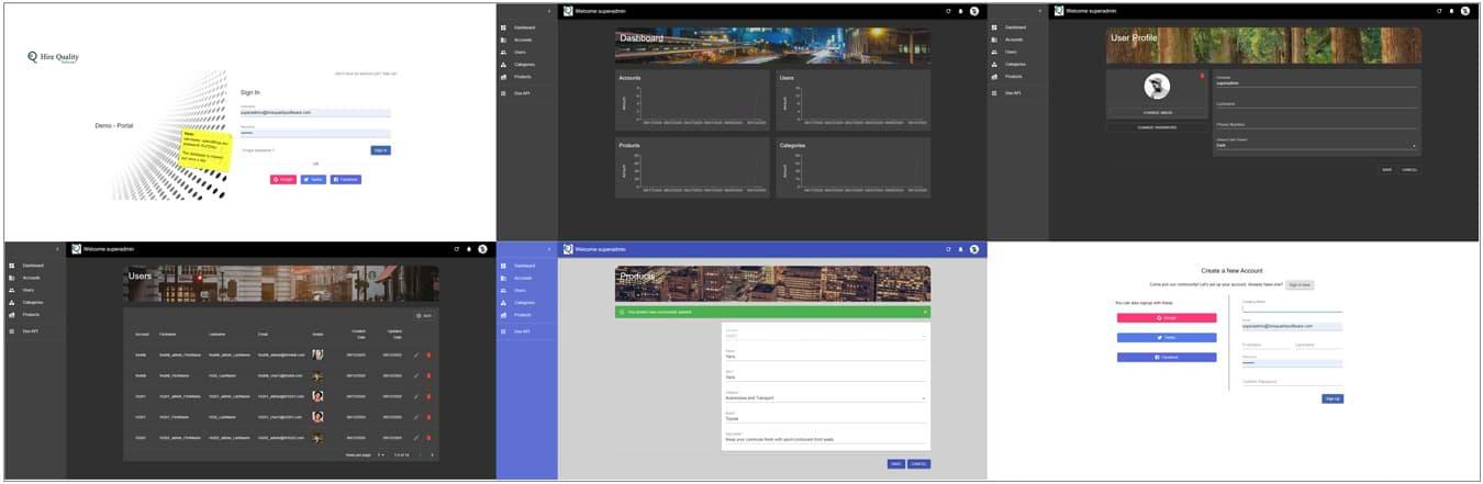 Demo Portal Link