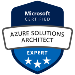 Azure Solutions Architect Certification